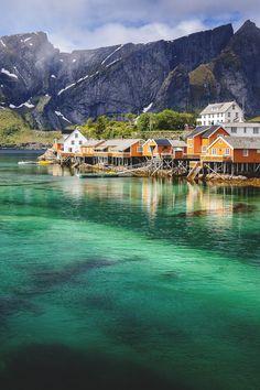 wnderlst:  Reine, Norway | Marc Schmittbuhl