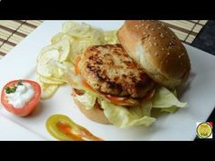 Chicken Burger - By Vahchef @ vahrehvah.com Reach vahrehvah at Website - www.vahrehvah.com/ Youtube - www.youtube.com/... Facebook - www.facebook.com/... Twitter - twitter.com/... Google Plus - plus.google.com/... Flickr Photo - www.flickr.com/... Linkedin - lnkd.in/nq25sW