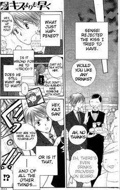 Faster than a Kiss Manga - Shouma and Kaji