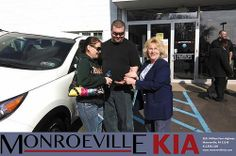 Congratulations to Mike & Jen Pocsatko on your #Kia #Sportage purchase from Terry Burke at Monroeville Kia! #NewCar