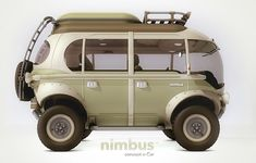 nimbus concept e-car based on the Volkswagen Transporter