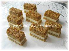 Ukázka – VI. část - www.helencina-sbirka-receptu.com Krispie Treats, Rice Krispies, Food, Bakken, Eten, Rice Krispie Treats, Meals, Rice Cereal, Diet