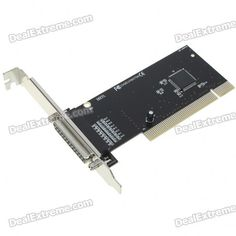DB 25 Pin Printer Parallel PCI Card - With software CD- It is ideal for printers, external storage media or parallel port scanners http://j.mp/1toASkv
