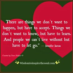 Daveswordsofwisdom.com: Things in life we don't want.