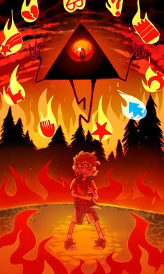 Dipper and Bill Cipher