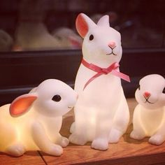 Woodland rabbit and baby bunny night lights are here to celebrate Mid-Autumn festival with everyone. Bebe Tigre Children's Store, Kidswear / Room Decor / Toys / Furniture Shop in Hong Kong #bunnyinabow