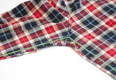 How to Alter a Men's Shirt, Part 2 / Amy Alan / Really Handmade