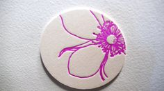 Hibiscus Coaster by PalettesCO on Etsy, $19.00