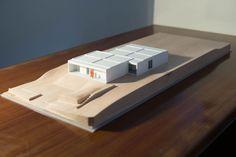 Casa Homm.Arquitecto Guillermo Mocholi.Maqueta de Arquitectura.Oceanonaranja.