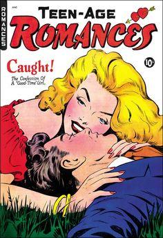 Teen-Age Romances #14 (February 1951) art by Matt Baker