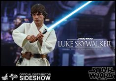 Hot Toys Luke Skywalker Sixth Scale Figure
