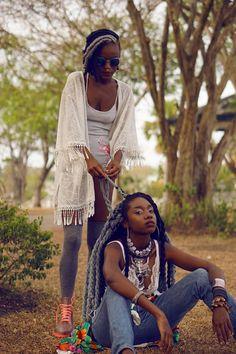 Kingkesia: Carefree Black Girls | kingkesia x madame-rheaIG:...
