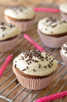Have you ever had cupcakes made with goat cheese frosting, especially on #NationalCupcakeDay? It is our favorite!