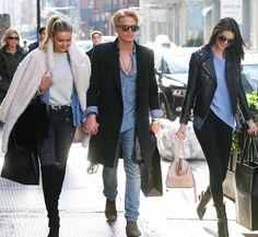 Gigi Hadid, Cody Simpson and Kendall Jenner