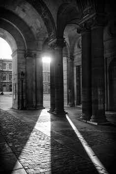 Paris - Le Louvre by Frank van Haalen, via 500px