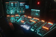 Soma CG Drives All Screen Visuals On-Set for Ridley Scott's Alien Covenant Alien Covenant, The Covenant, Spaceship Interior, Arte Cyberpunk, Ridley Scott, Projection Mapping, Futuristic Technology, Science Fiction Art, On Set