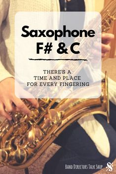 Saxophone F# & C - There's a Time and Place for Every Fingering - Band Directors Talk Shop Middle School Music, High School Band, Music Lesson Plans, Music Lessons, Music Education, Music Teachers, Music Class, Piano Teaching, Teaching Tips