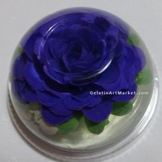 how to make blue jelly with gelatin