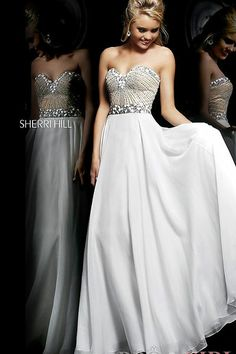 This is a prom dress but I love it as a wedding dress