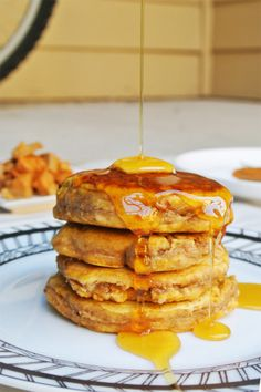 leftover pie pancakes-for the day after thanksgiving of xmas or any pie-type day.