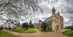 https://flic.kr/p/G35PfH | St Albans Cathedral | 60 Shot HDR Panorama