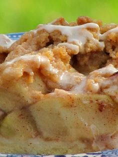 Pine Cones and Acorns: Slab Apple Pie with Streusel Topping