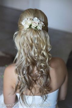 Elegant wedding hairstyle idea