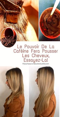 A beautiful and strong hair can be obtained without resorting to expensive treatments, caffeine is also good for eliminating cellu Natural Hair Ponytail, Natural Hair Men, Natural Hair Styles, Long Hair Styles, Make Hair Grow, How To Make Hair, Cellulite, Bantu Knot Out, Flexi Rods