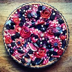 Excellent Free fruit cake tart Tips - yummy cake recipes Yummy Recipes, Tart Recipes, Dessert Recipes, Pastry Recipes, Just Desserts, Delicious Desserts, Yummy Food, Cupcakes, Cupcake Cakes