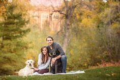 University of Colorado Engagement Photos   Autumn Engagement Pictures