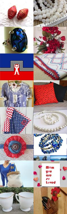 Red, White, and Blue by Rita on Etsy--Pinned+with+TreasuryPin.com