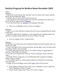Downloadable Free Nativity Script for a Kids Christmas Play ...