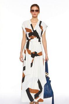 Diane von Furstenberg 'Ethyl' Maxi Dress