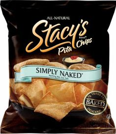 $23 Stacy's Pita Chips, Simply Naked, 1.5-Ounce Bags (Pack of 24)