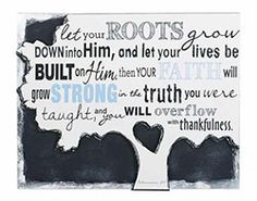 Title: Canvas Print-Let Your Roots Grow By: Carson Home Accent