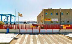 insegne OLBIA, insegne DHL Olbia -  Sardinia Yacht Services, OLBIA