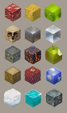 Material studies, Torsten Von Nerdbot on ArtStation at…