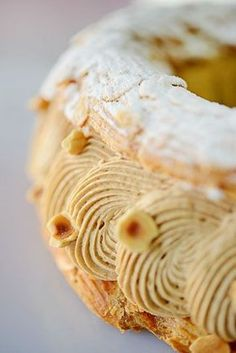 Pastry Recipes, Baking Recipes, Dessert Recipes, Paris Brest, Choux Buns, Sweet Corner, French Patisserie, Choux Pastry, Eclairs