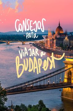 Consejos para viajar a Budapest (y no cagarla) Places Around The World, The Places Youll Go, Places To Visit, Around The Worlds, Bratislava, Travel Guides, Travel Tips, Travel Blog, Eurotrip