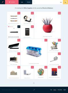 Clean e-commerce website   #ui #ux #userexperience #website #webdesign #design #minimal #minimalism #art #white #orange #blue #travel #map #ecommerce #fashion