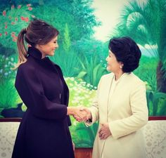 First Lady Melania Trump in South Korea 2017