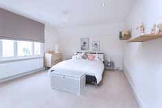 Children Bedroom Design using Ferm Living shelves, Camerich Alison bed & Nubee furnishings