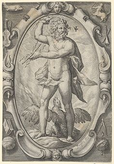 Jupiter (from The Planets) Hendrick Goltzius