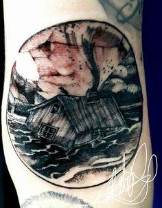 Desenho de Arthur Freitas - Execução tattoo Roberto Nascimento