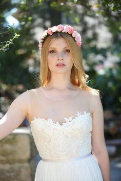 Elinor  Boho wedding dress  bohemian wedding dress by thebride2b
