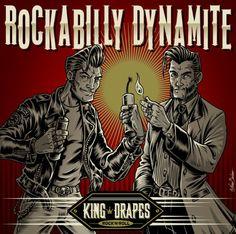 King Drapes, new cover album, by Nano Barbero www.nanobarbero.es