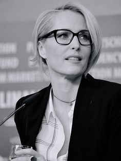 """scullys: """"Gillian Anderson attends the 'Viceroy's House' press conference during the 67th Berlinale International Film Festival Berlin on February 12, 2017 in Berlin, Germany. """""""