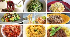 Pasta can be heavy, processed, filled with gluten, and devoid of any real nutritional content. The following are a list of recipes that use ...