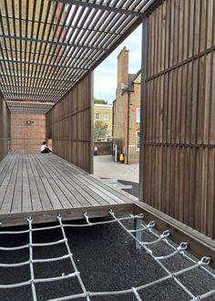 We are market leaders in the design and build of bespoke playgrounds have built numerous award-winning playgrounds. London Architecture, Architecture Awards, Construction Drawings, Natural Playground, Playground Design, Timber Cladding, Outdoor School, Kew Gardens, Playgrounds