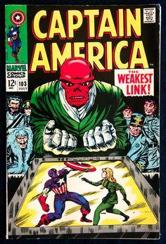 Captain America #103, July 1968: The Weakest Link - Little Green Footballs